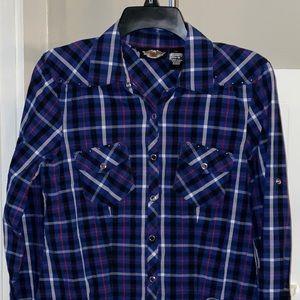 Ladies Harley Davidson long sleeve shirt